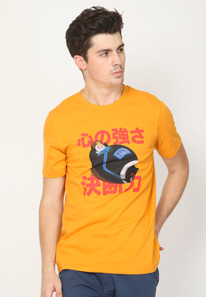 Tuby Vampire Graphic T-Shirt in Dark Cheddar - Skellyshop Singapore | Skellyshop Singapore T-Shirts | skellyshop.co.uk