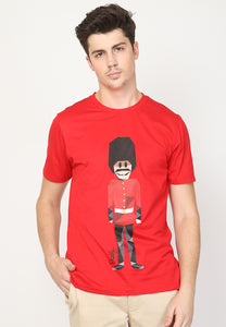 Royal Guard MMIX Fiber in Red - Skellyshop Singapore | Skellyshop Singapore T-Shirts | skellyshop.co.uk