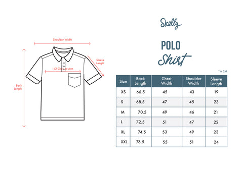 Guardian MMIX A17 Polo Shirts Foggy Grey - Skellyshop Singapore | Skelly Original Poloshirts | skellyshop.co.uk