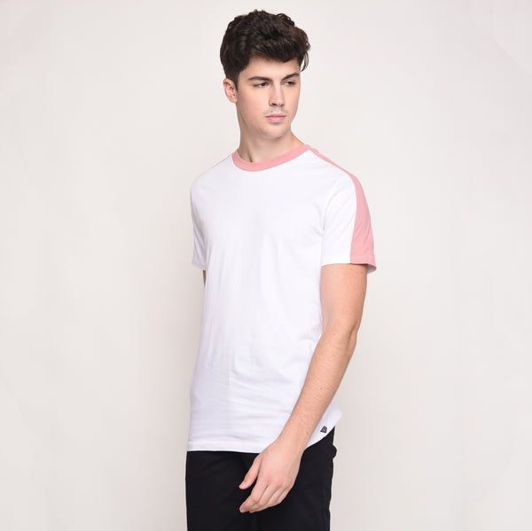Studio Tee in Pink Shell
