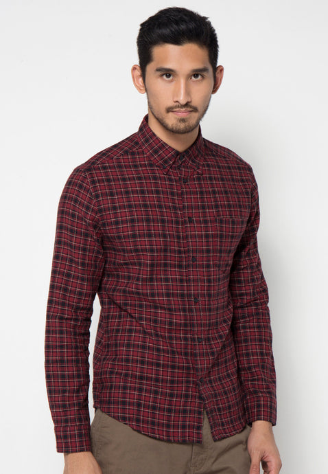 Pennington Check Shirt - Skellyshop Singapore | Skelly Collective Shirts | skellyshop.co.uk