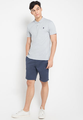 Stuart Shorts in Navy - Skellyshop Singapore | Skelly Collective Shorts | skellyshop.co.uk