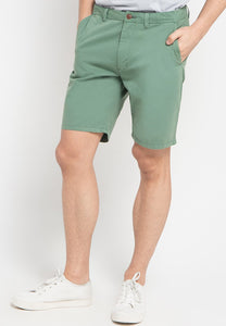 Stuart Shorts in Green - Skellyshop Singapore | Skelly Collective Shorts | skellyshop.co.uk