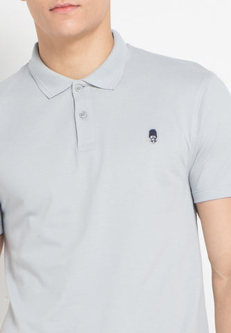 Guardian MMIX A17 Polo Shirts Cool Grey - Skellyshop Singapore | Skelly Original Poloshirts | skellyshop.co.uk