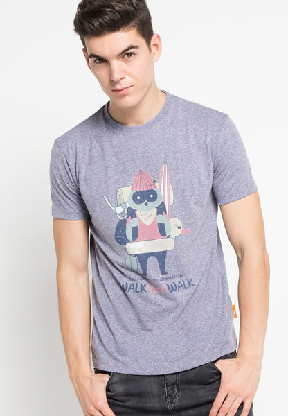 Racoon Walk Retro Graphic T-shirt - Skellyshop Singapore | Skelly Original T-Shirts | skellyshop.co.uk