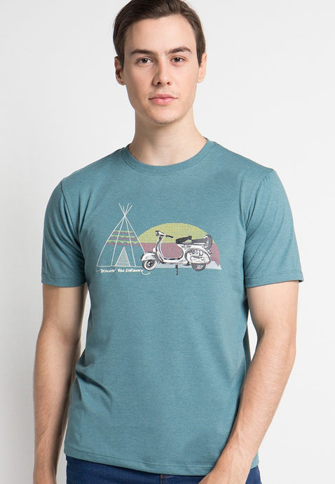 Scoot Camp Graphic T-shirt