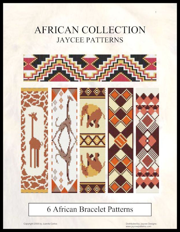 Pattern Ebook - African Collection - Various Stitches