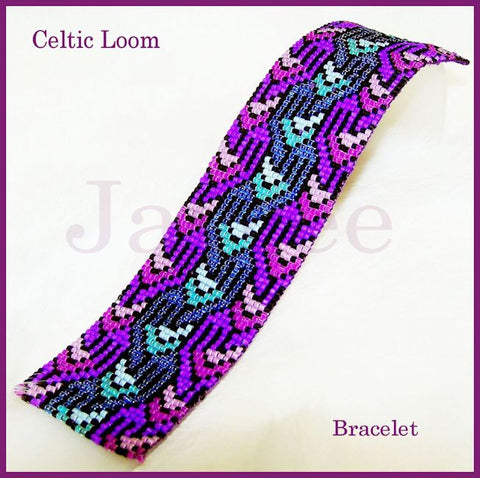 Bead Pattern - Celtic Loom Bracelet - Loom Stitch