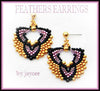 Bead Tutorial - Feathers Earrings - Peyote stitch