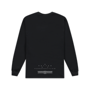 DROELOE AMOP ARG long sleeve tee - black