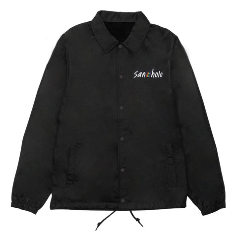 San Holo album1 x bitbird coach jacket black