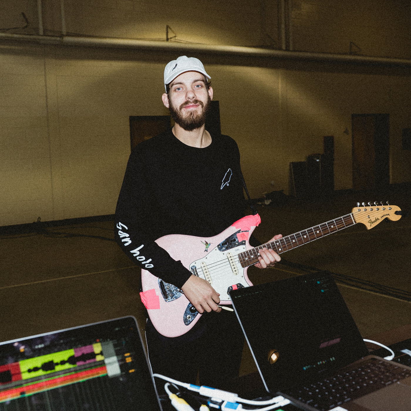 San Holo album1 x bitbird long sleeve black