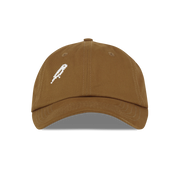 bird spotters club cap - Brown