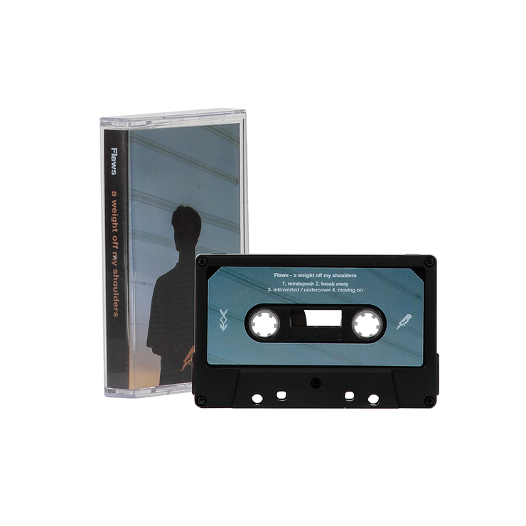 Flaws  'a weight off my shoulders' cassette