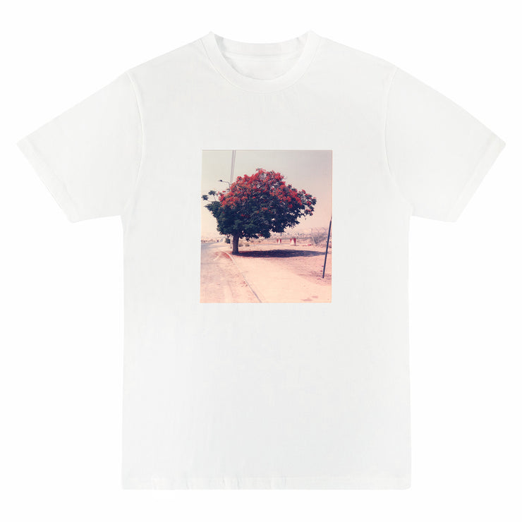 Flaws x ILIVEHERE. - Morning Might Turn Things Around Artwork Tee