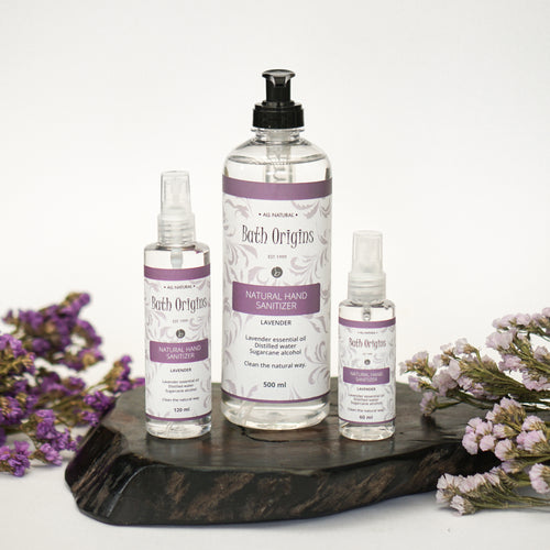 Lavender Natural Hand Sanitizer