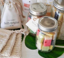 All Natural Mini Soap Bars in Zero Waste Mason Jar Packaging