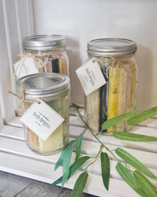 Soap Sticks in a Big Mason Jar