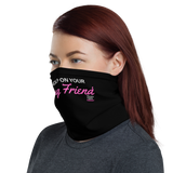 Pink Strong Friend Face/Neck Mask