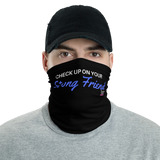 Blue Strong Friend Face/Neck Mask