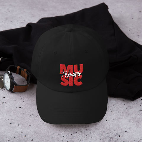 Music Therapy Dad Hat