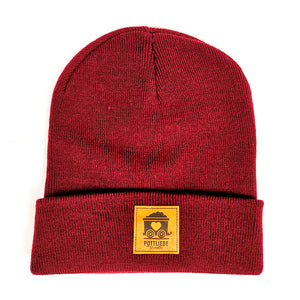 POTTLIEBE Beanie Burgundy