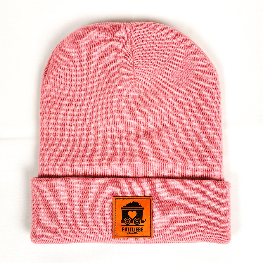 POTTLIEBE Beanie Dusty Pink