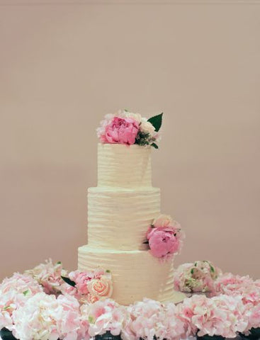 Caroline and Nathan - Wedding Cake