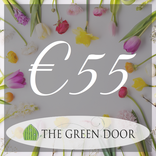 €55 for €50  Green Door Florist Voucher