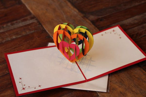 Love Heart Card
