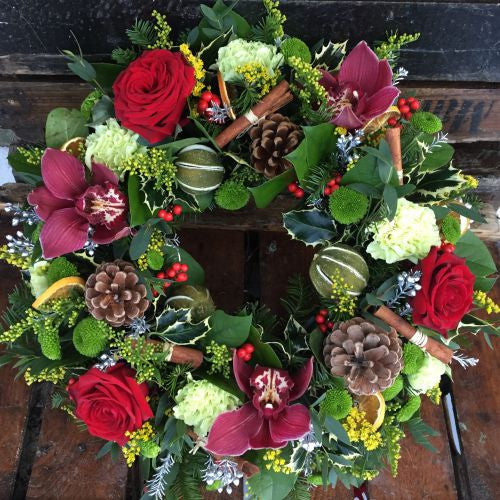 Luxurious Winter Wreath
