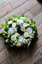 White Round Wreath
