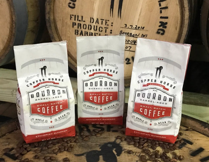 Bourbon Barrel-Aged Coffee (8oz)