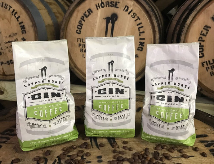 Gin Infused Small-Batch Coffee (8 oz)