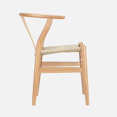 Wishbone chair - Side