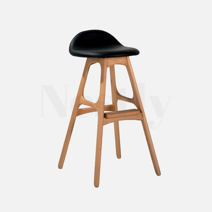 Erik Buch Style Bar Stool - Natural