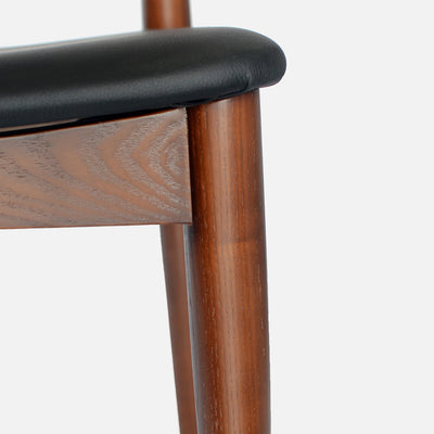 Elbow chair Walnut - Leg