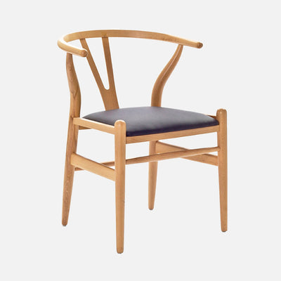 Hans Wegner Wishbone Chair Padded - perspective