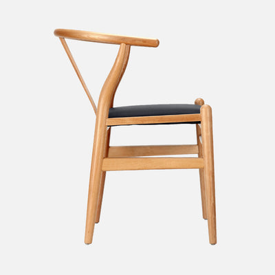 Hans Wegner Wishbone Chair Padded - Side