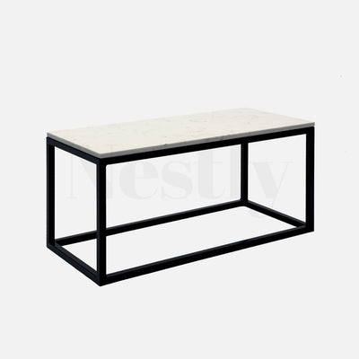 Cooper Box Frame Coffee Table - Marble