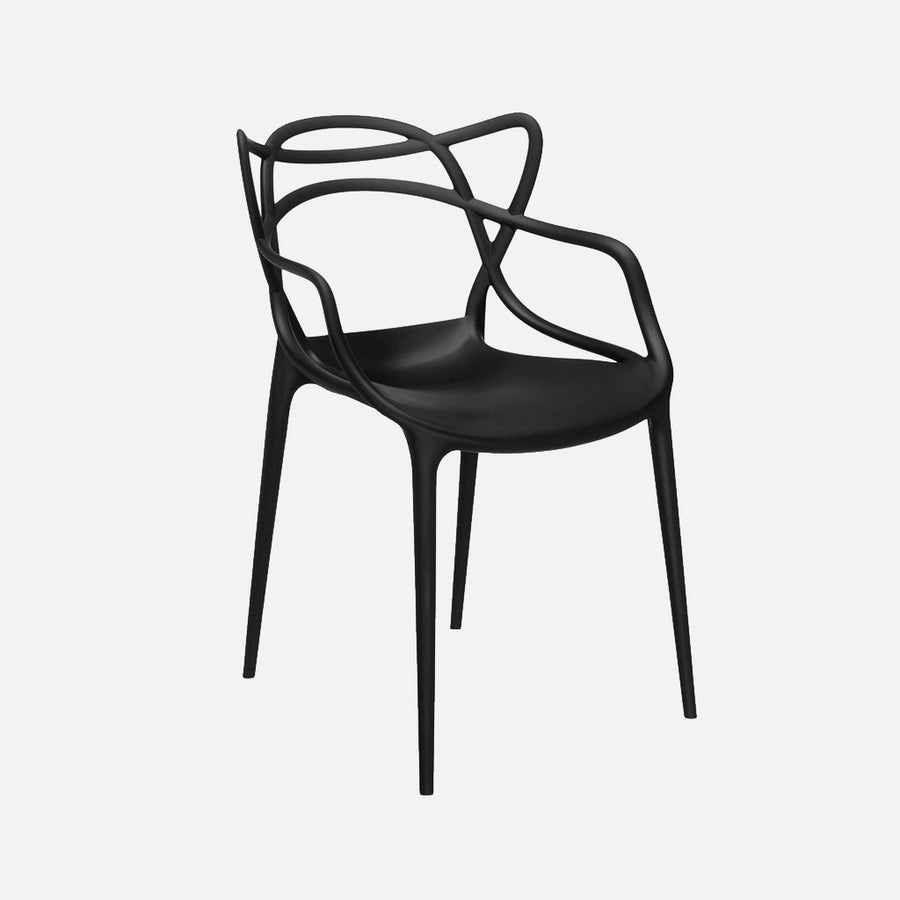 Masters Chair - Black Front