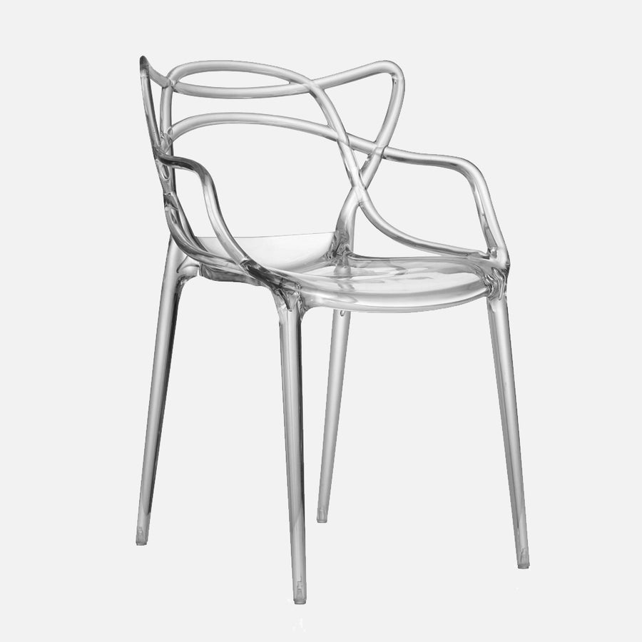 Phillipe Starck Replica Masters Chair – Clear Smoked
