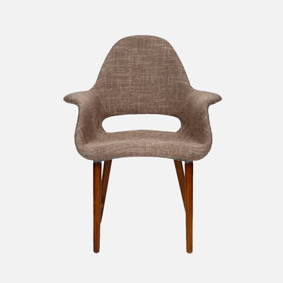 Organic chair Light Brown - Front
