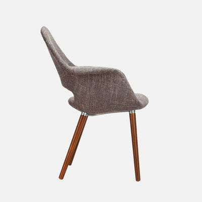 Organic chair Light Brown - Side