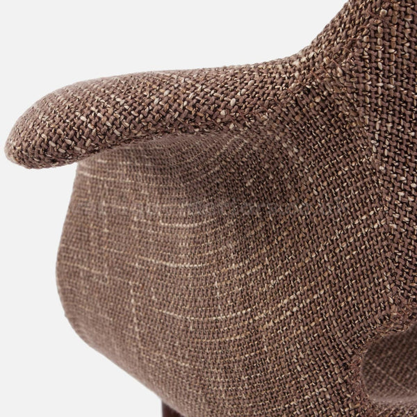 Organic chair Light Brown - Close up