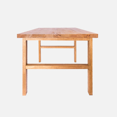 Henson timber dining table - Side view