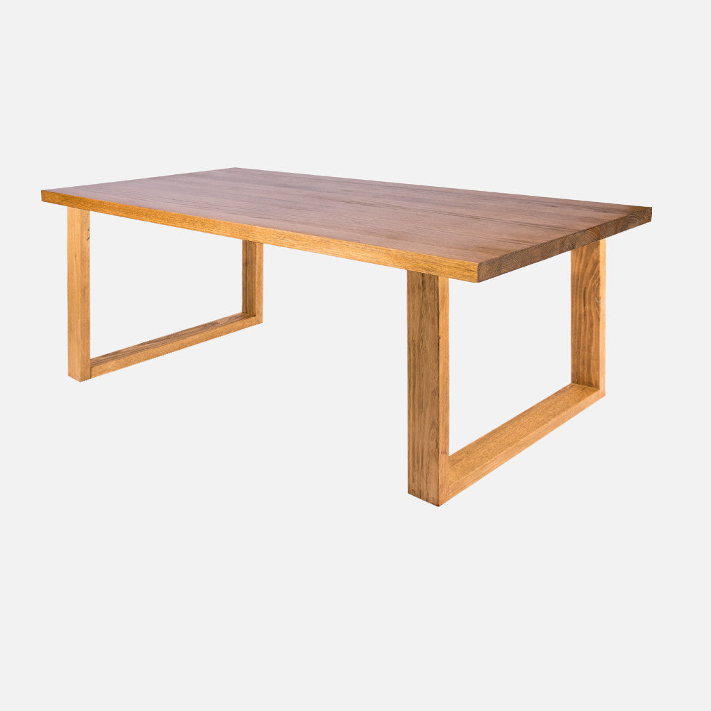 Steel Coffee Table Legs Brisbane: Uchi Solid Timber Dining Table