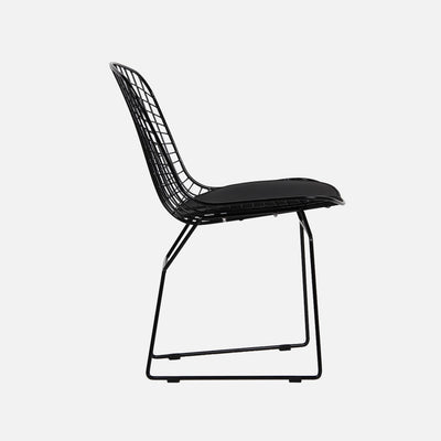 Harry Bertoia Replica Wire Side Chair – Black