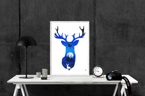 PATRONUS HARRY POTTER - 60X45