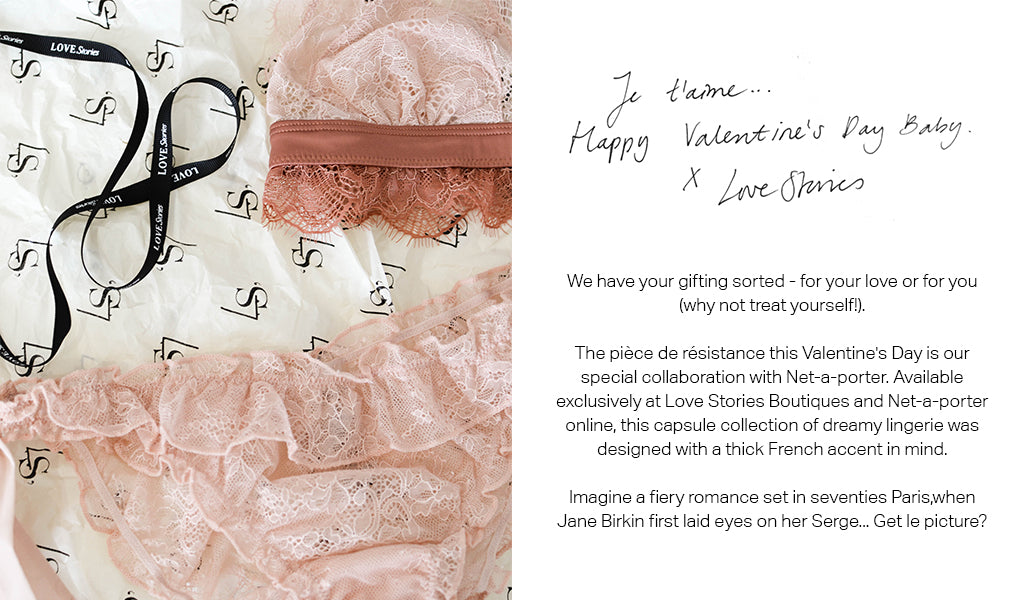 Love Stories Valentines Day Netaporter